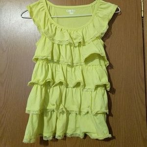 Girl's sleeveless shirt